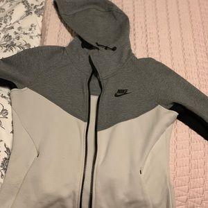 Nike zip tech fleece